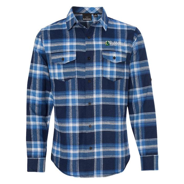 4imprint Com Burnside Yarn Dyed Flannel Shirt Men S 127467 M