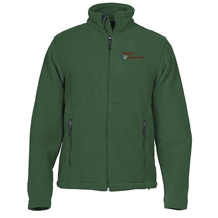 b61ee9fec7ba 4imprint.com  Crossland Fleece Jacket - Men s - 24 hr 123990-M-24HR