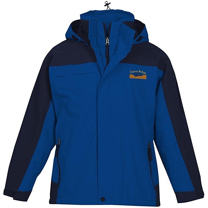 4c523ab01120 4imprint.com  Compass Waterproof Jacket - Men s 132383-M