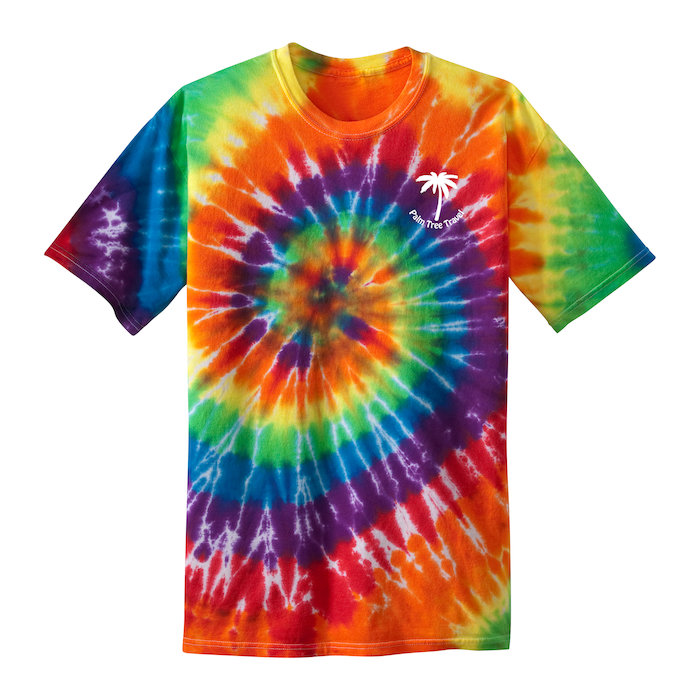 Tie dye swirl t shirt men 39 s 132480 m for Custom tie dye shirts no minimum