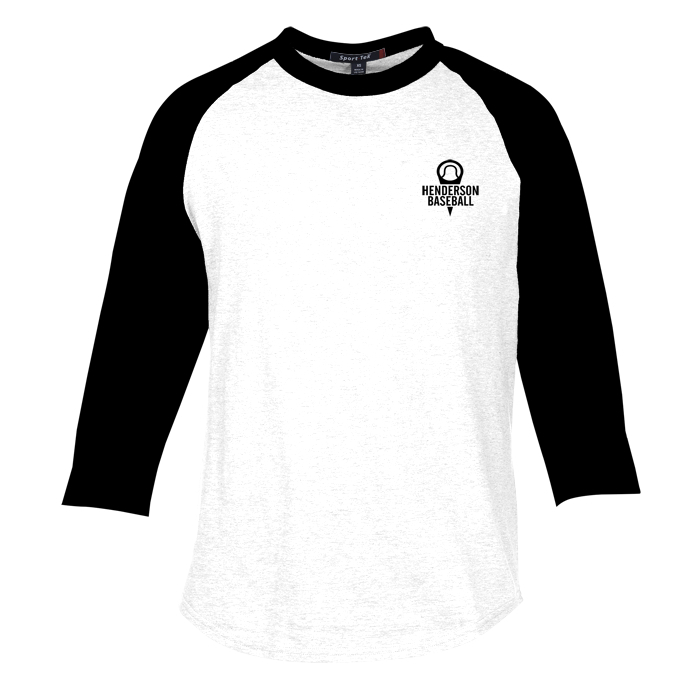 Colorblock 3/4 Sleeve Cotton Baseball T-Shirt (Item No. 132493 ...