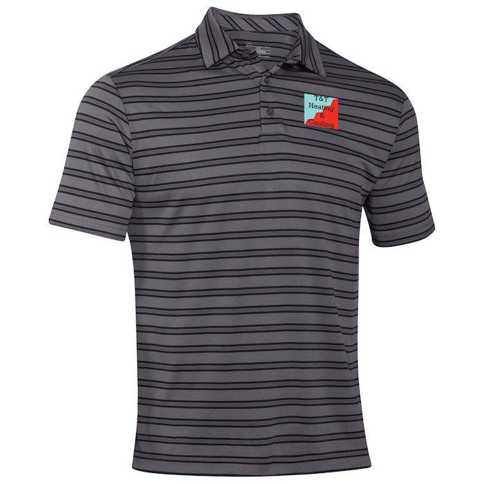 89bda1ca 4imprint.com: Under Armour Tech Stripe Polo - Men's - Full Color ...