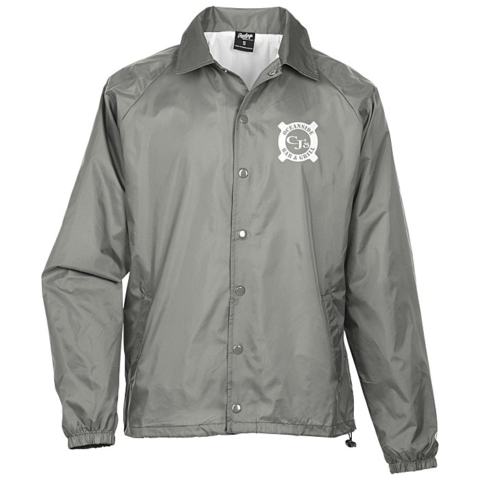 fca044103ac 4imprint.com: Rawlings Nylon Coach's Jacket - Screen 129119-S