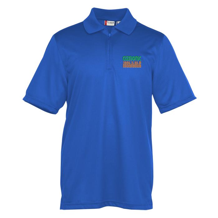 eacbf15e0 4imprint.com: Malmo Snag-Proof Zip Placket Polo - Men's 137508-M