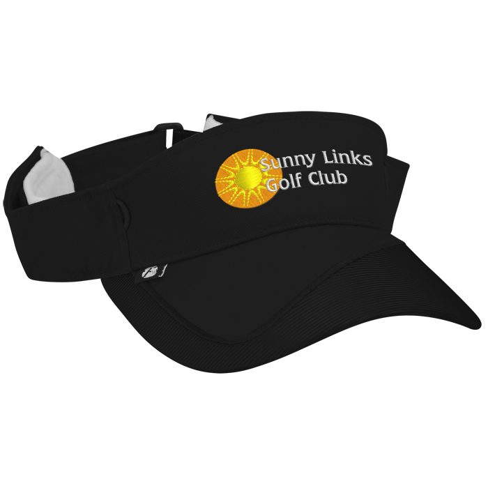 f828e4e6730 4imprint.com  Fairway Wicking Golf Visor with Tee Holder 138208