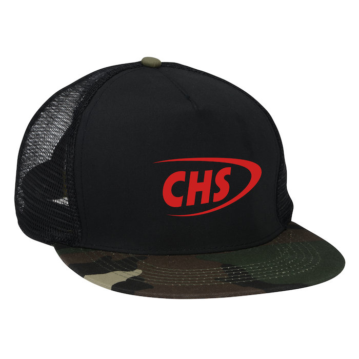 4imprint.com: Camo Flat Bill Cap - Screen - 24 hr 137956-S