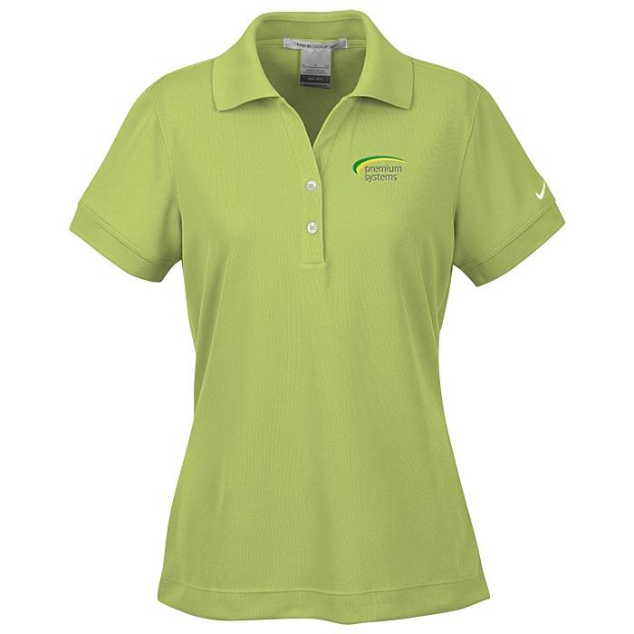 3cc010aed 4imprint.com: Nike Performance Classic Sport Shirt - Ladies' - 24 hr ...