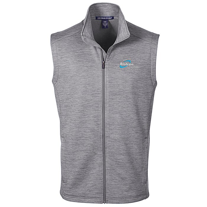 4b5be1a156f 4imprint.com  Newbury Melange Fleece Vest - Men s 139496-M-V