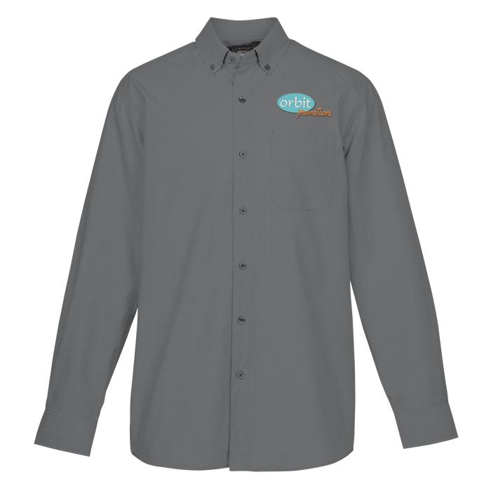 0d05e270 4imprint.com: Halden Stain Resistant Dress Shirt - Men's 140193-M