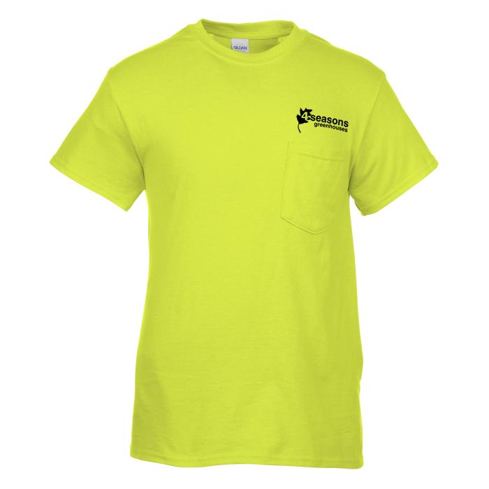 87dfd8b803c 4imprint.com  Gildan 5.3 oz. Cotton T-Shirt with Pocket - Men's ...