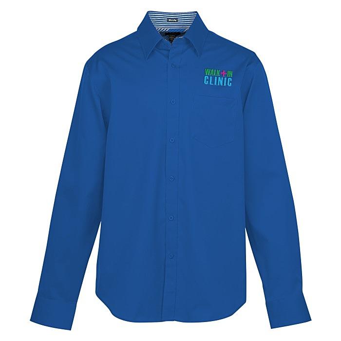 e206751e 4imprint.com: Cromwell Pinpoint Oxford Cotton Shirt - Men's - 24 hr ...