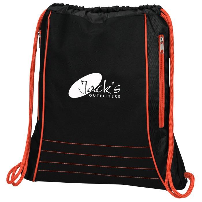 4imprint Com Neon Deluxe Drawstring Sportpack 142501