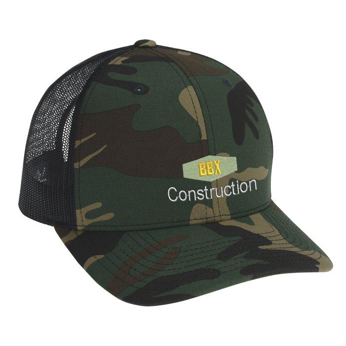 9aea9c5c540 4imprint.com  Richardson Trucker Snapback Cap - Army Camo 138629-AC