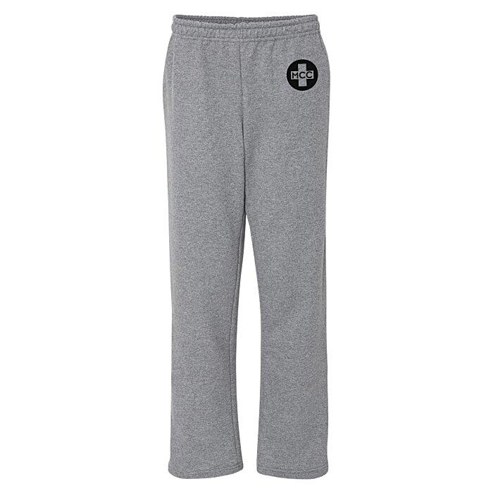 ce5a285a8a8411 4imprint.com: Gildan 8 oz. Heavy Blend 50/50 Open Bottom Sweatpants ...