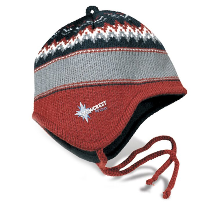 4imprint com  heavyweight helmet beanie - chevron