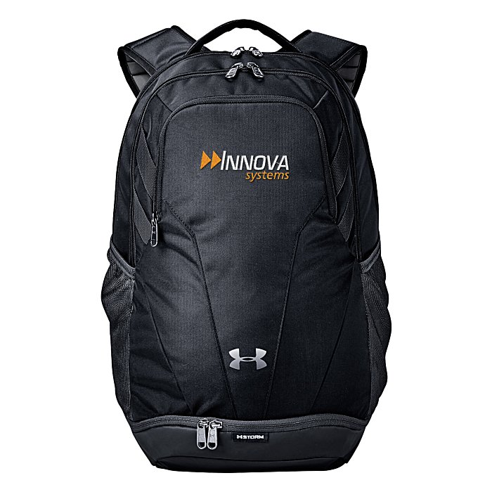 4imprint.com  Under Armour Hustle II Backpack - Embroidered 145423-E 217be284dd52a
