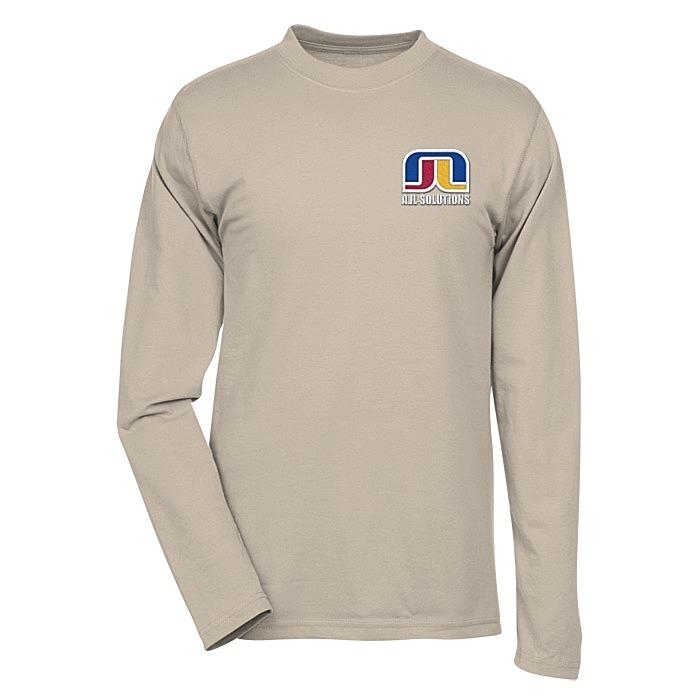 b8dec945 4imprint.com: Dri-Balance Blend Long Sleeve T-Shirt - Men's ...
