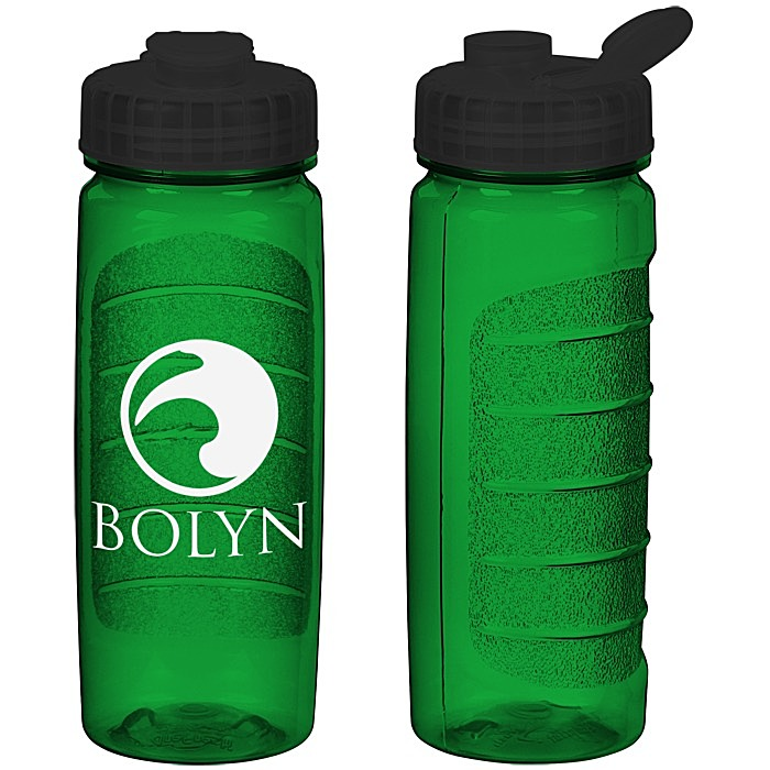 5865906549 4imprint.com: Refresh Clutch Water Bottle with Flip Lid - 20 oz ...