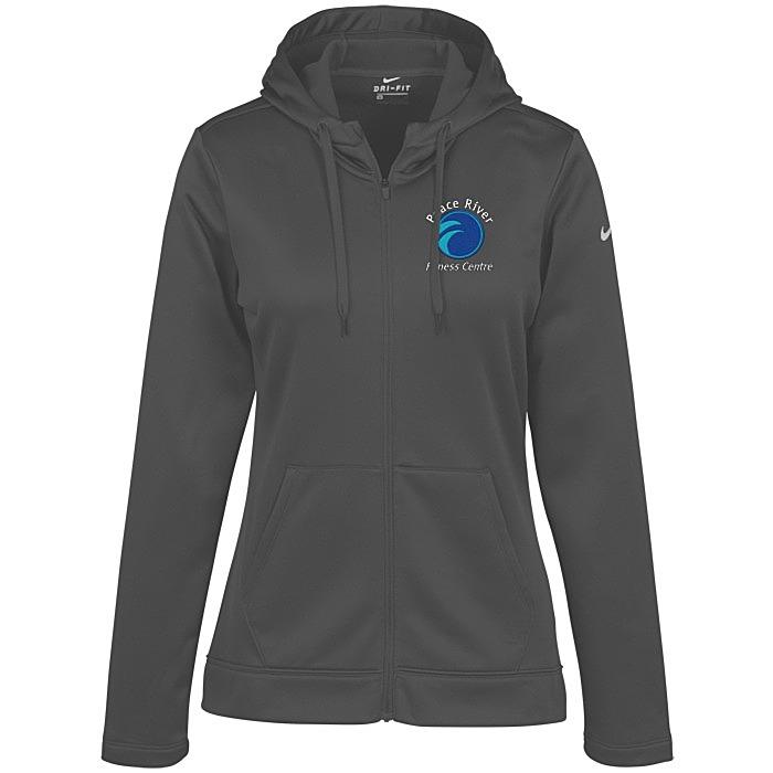 090dc095 Nike Thermal Fit Full-Zip Hoodie - Ladies'