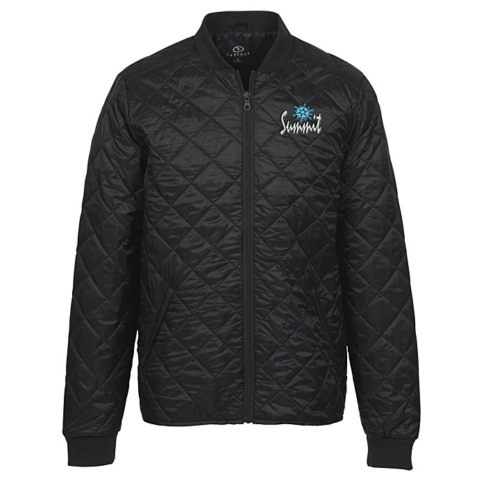 9bc3248ba468 4imprint.com  Diamond Quilted Jacket - Men s - 24 hr 149124-M-24HR