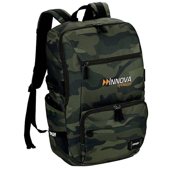 4c7f24f1d9 4imprint.com  Oakley 28L Street Organizing Laptop Backpack 150264