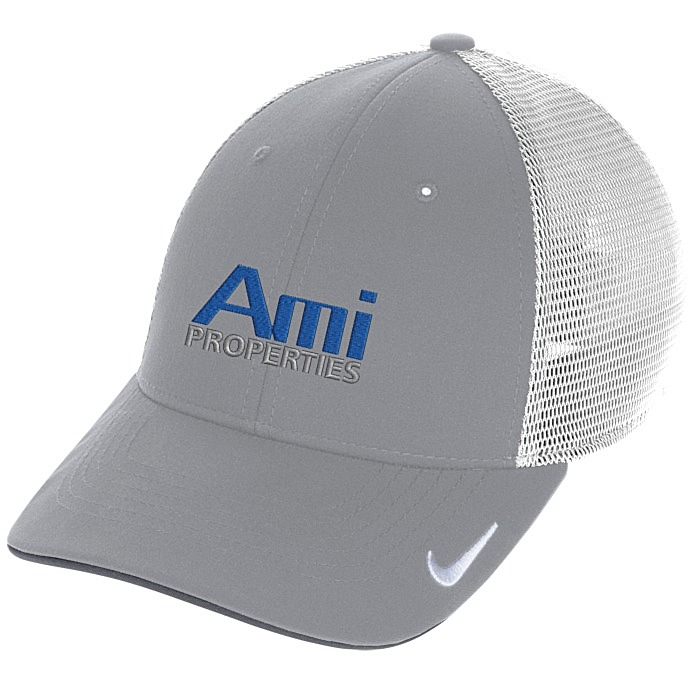 c126f0cd6292b 4imprint.com: Nike Dri-FIT Mesh Back Cap 150396
