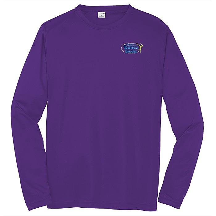 4996c385c 4imprint.com  Contender Athletic LS T-Shirt - Embroidered - 24 hr ...