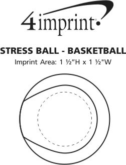 Imprint Area of Stress Reliever - Basketball