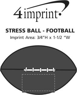 Imprint Area of Stress Reliever - Football