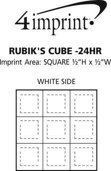 Imprint Area of Rubik's Cube - 24 hr