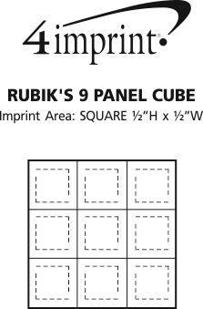 Imprint Area of Rubik's Cube