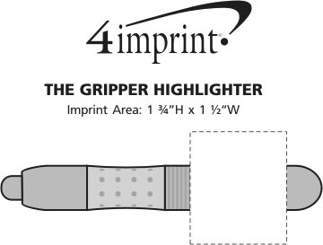 Imprint Area of The Gripper Highlighter