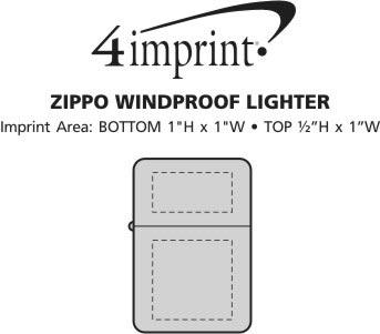 Imprint Area of Zippo Windproof Lighter