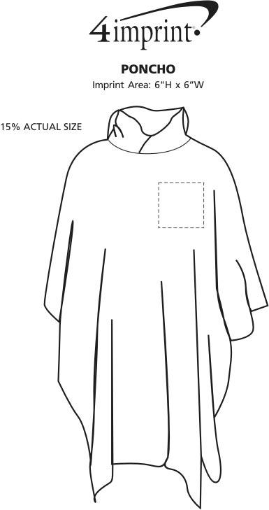 Imprint Area of Poncho
