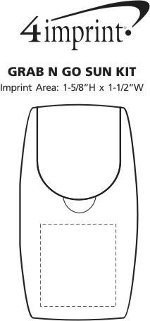 Imprint Area of Grab N Go Sun Kit - Opaque