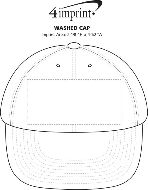 Imprint Area of Washed Cap