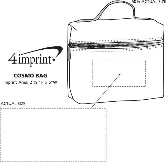 Imprint Area of Cosmo Bag
