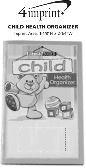 Imprint Area of Better Book - Child Health Organizer