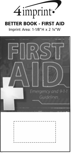 Imprint Area of Better Book - First Aid