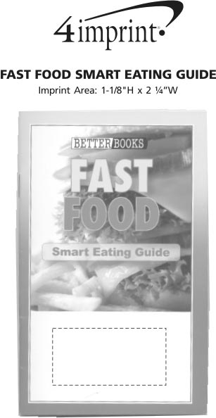 Imprint Area of Better Book - Fast Food