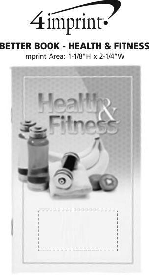 Imprint Area of Better Book - Health & Fitness