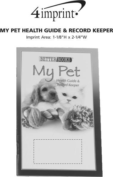 Imprint Area of Better Book - My Pet's Health