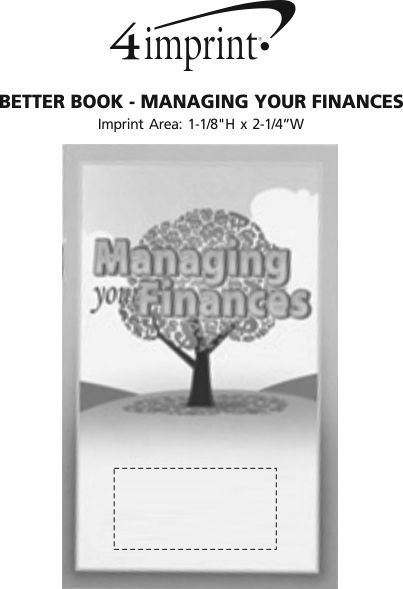 Imprint Area of Better Book - Managing Your Finances
