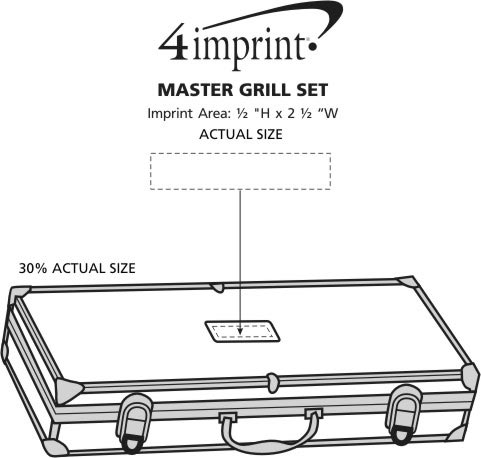Imprint Area of Master Grill Set