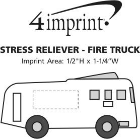 Imprint Area of Stress Reliever - Fire Truck