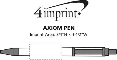Imprint Area of Axiom Pen
