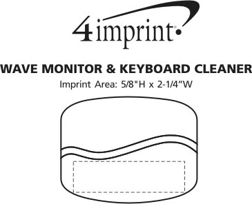 Imprint Area of Wave Monitor & Keyboard Cleaner