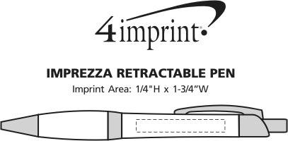 Imprint Area of Imprezza Metal Pen