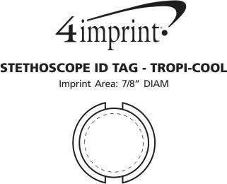 Imprint Area of Stethoscope ID Tag - Translucent