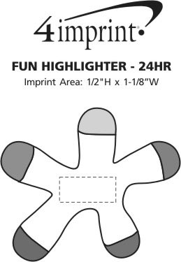 Imprint Area of Fun Highlighter - 24 hr